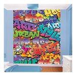 graffiti behang jongenskamer