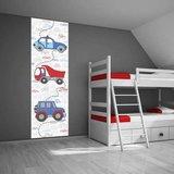 Poster (zelfklevend) auto kinderkamer