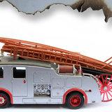 Poster (zelfklevend) brandweer detail