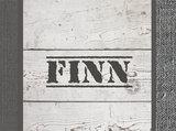 Poster (zelfklevend) detail ster sloophout