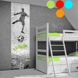 voetbal poster (zelfklevend) kleuren