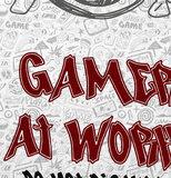 Poster (zelfklevend) gamer game zone detail
