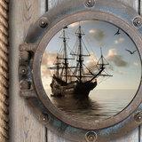 muurdecoratie piraten