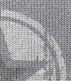 Poster (zelfklevend) ster mint detail