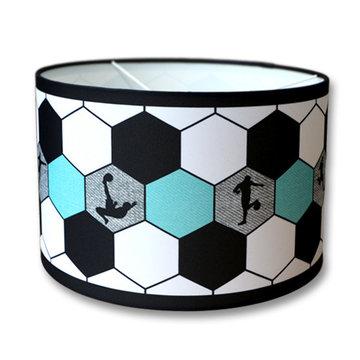 Kinderlamp voetbal aqua / turquoise
