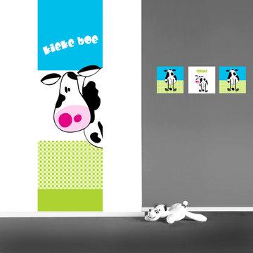 Poster Kinderkamer (zelfklevend): Kiekeboe