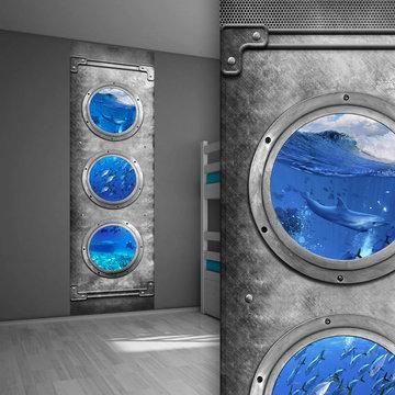 Muursticker paneel: Onderwaterwereld