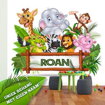 Junglekamer ideeen 101kinderkamerideeen en decoratie for Decoratie spullen