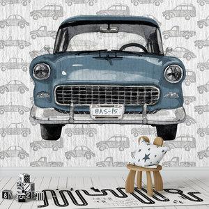 auto behang kinderkamer