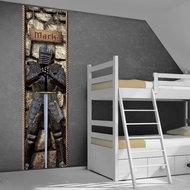 Poster (zelfklevend) ridderkamer