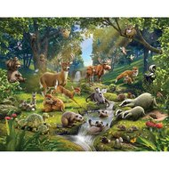 Walltastic animals of the forrest